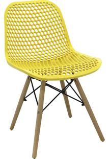 Cadeira Eloisa Amarela Rivatti Móveis