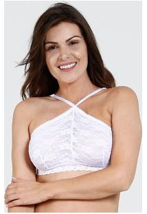 Top Feminino Renda Marisa