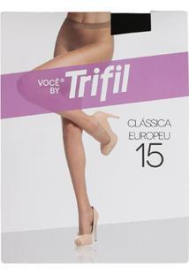 Meia-Calça Trifil - Feminino-Preto