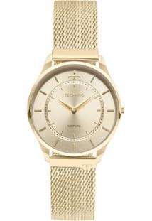 aa76bd9f8e5 ... Relógio Feminino Technos 9T22Ak 4X Slim Aço - Feminino-Dourado