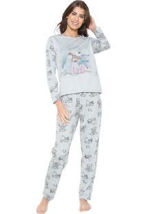 Pijama Pzama Hello Winter Verde