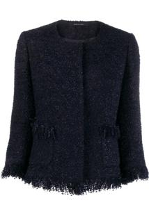 Tagliatore Jaqueta Milly De Tweed - Azul