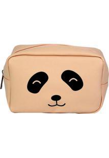 Necessaire Bolsine Panda Rosa