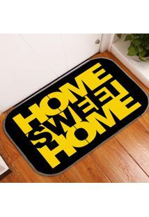 Tapete Decorativo Home Sweet Home ÚNico - Multicolorido - Dafiti