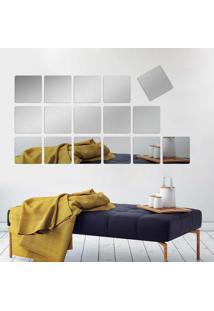 Espelho Decorativo Kit Quadrados