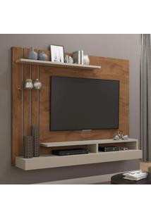 Painel Para Tv Até 47 Polegadas Valência Permobili Savana/Off White