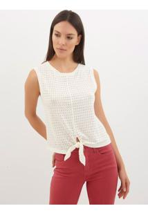 8481a3030a Regata Le Lis Blanc Linho feminina