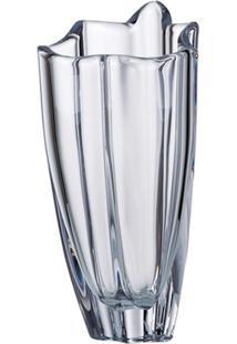 Vaso Cristal Pequeno 25,5 Cm Vulcano Bohemia