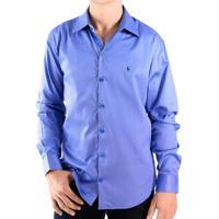 e1fef81bc Home Roupas Masculinas Camisas Pool. -39%. Camisa Zimpool Social Slim Fit  Manga Longa Azul