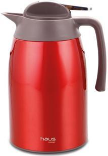 Garrafa Térmica Curve- Inox & Vermelha- 26X14,8X18Cmbrinox