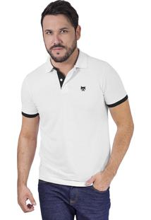 ... Camisa Polo Phox Premium - Branca 1010-01 - M 9aa6cf554922c
