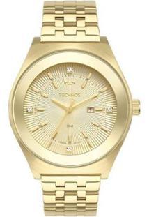 Relógio Technos Fashion 2015Cea4X Feminino - Feminino-Dourado