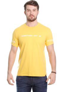Camiseta Javali Create Mostarda