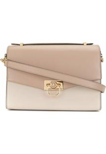 Michael Michael Kors Medium Hendrix Crossbody Bag - Marrom
