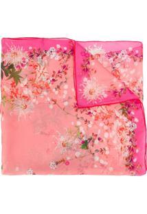 Givenchy Echarpe Floral - Rosa