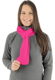 Cachecol Térmico Classic Thermo Fleece Rosa