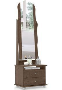 Criado-Mudo Com Espelho Magic 2 Gv Imbuia