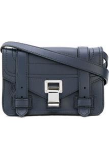 Proenza Schouler Bolsa Transversal Mini 'Ps1+' - Azul