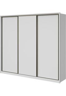 Guarda-Roupa Spazio - 3 Portas - 100% Mdf - Branco