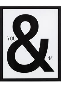 Quadro Canvas Você E Eu