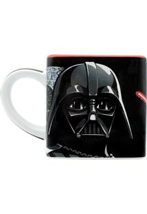 Caneca Quadrada Star Wars Darth Vader 300 Ml
