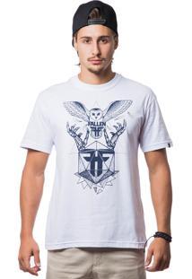 Camiseta Manga Curta Fallen Branco