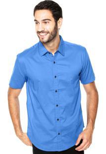 Camisa Vr Classic Azul