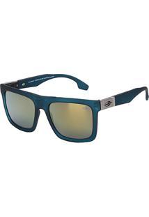 Óculos De Sol Mormaii Long Beach Espelhado M0064K0496 Masculino - Masculino-Marrom Escuro