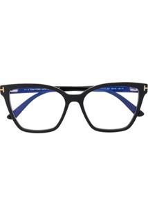 Tom Ford Eyewear Óculos De Sol Com Lentes Encaixáveis - Preto