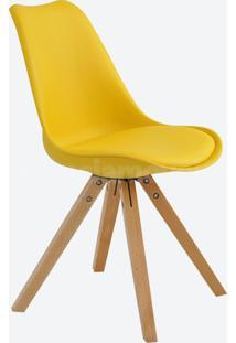 Cadeira Lígia Amarelo