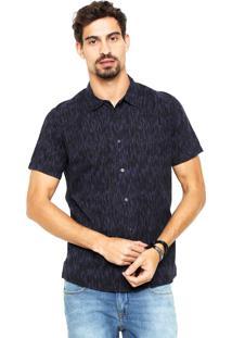 Camisa Reserva Camuflada Azul