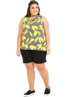 Regata Esporte Plus Size feminina  ba30b75585a