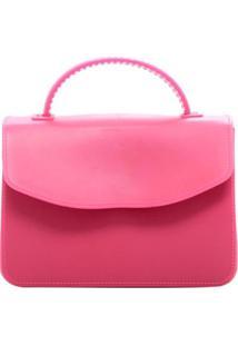 Bolsa Birô Pequena Maleta Feminina - Feminino-Pink