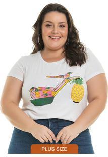 Blusa Pineapple Branco