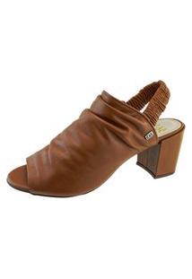 Sandália 365 Days Ankle Boot Marrom