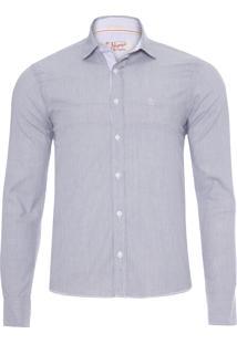 Camisa Masculina Adulto - Cinza