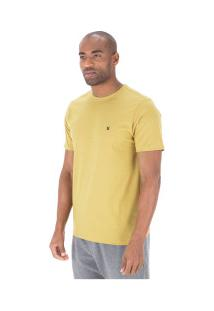 Camiseta Hurley Silk Incon - Masculina - Amarelo Escuro
