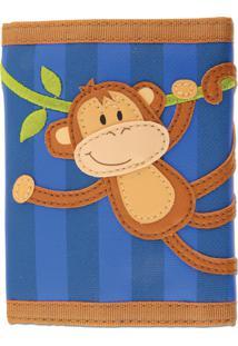 Carteira Macaco Stephen Joseph Azul