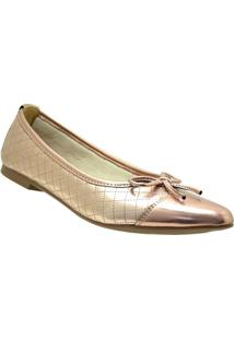 Sapatilha Dr Shoes Casual Feminino - Feminino-Rose Gold