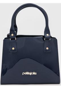 Bolsa Petite Jolie Bing Azul-Marinho
