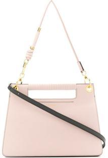 Givenchy Bolsa Tiracolo Whip Média - Rosa