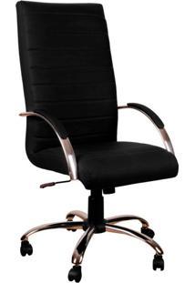 Cadeira De Escritório Presidente Roma Preto