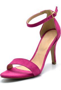 Sandália Salto Fino Gisela Costa Pink - Kanui