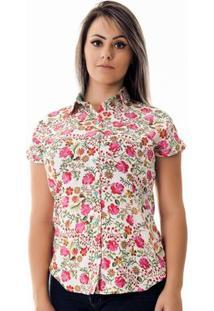 Camisa Pimenta Rosada Da Anna Floral - Feminino-Floral