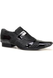 Sapato Social Masculino Calvest Artesanal Em Couro Viena - Masculino