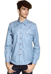 Camisa Jeans Neesie- Azul