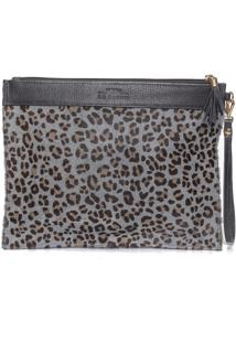 Necessaire Feminina Customizável Com Alça - Animal Print