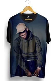 Camiseta Bsc Chris Breezy Full Print - Masculino