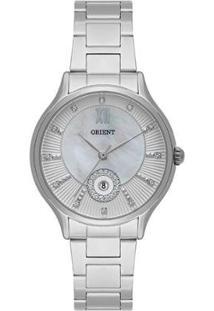 Relógio Orient Feminino Madrepérola Analógico - Feminino-Prata