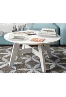 Mesa De Centro Bay Branco - Líder Design